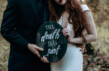 28 Spooktacular Halloween Wedding Ideas