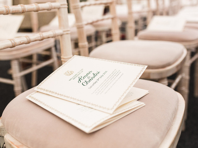 Wedding Order of Service Templates, Ideas and Inspiration