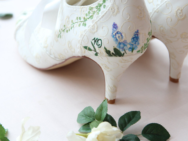 How to Customise Your Wedding Shoes