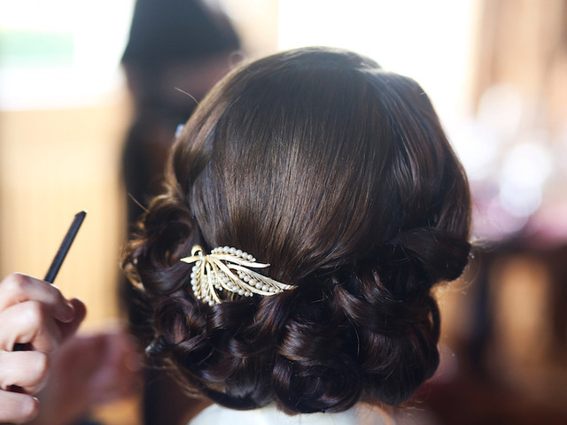 6 Gorgeous Wedding Updos for Every Style of Bride