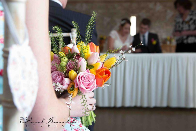 Folly Farm rustic wedding