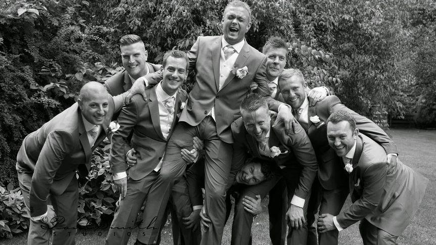 Egypt Mill groomsmen