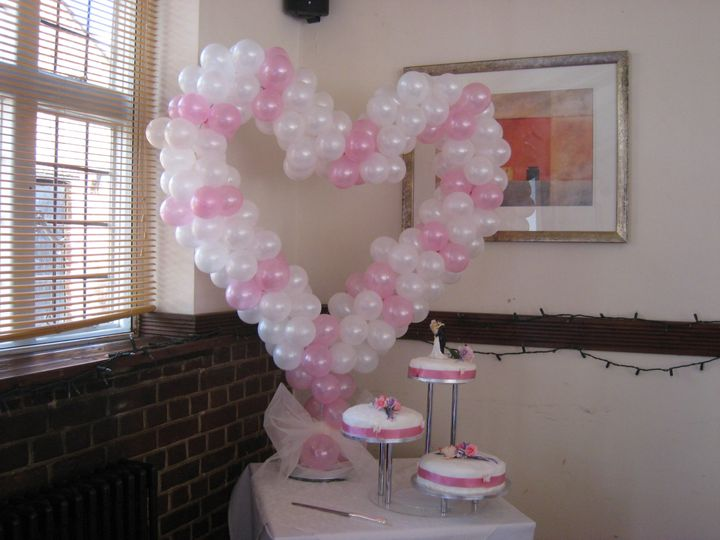 3ft Balloon Heart Structure