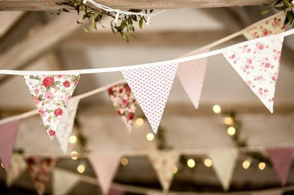 Bunting provided