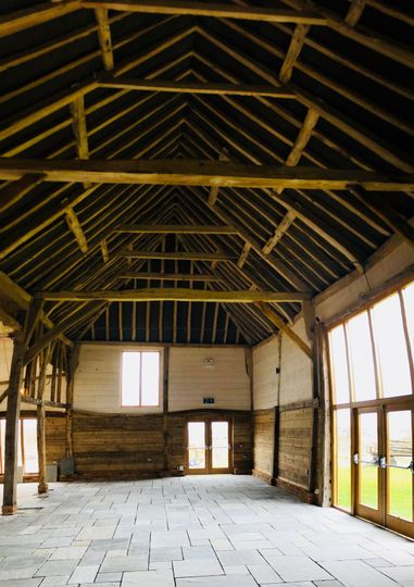 17th century beams and roof