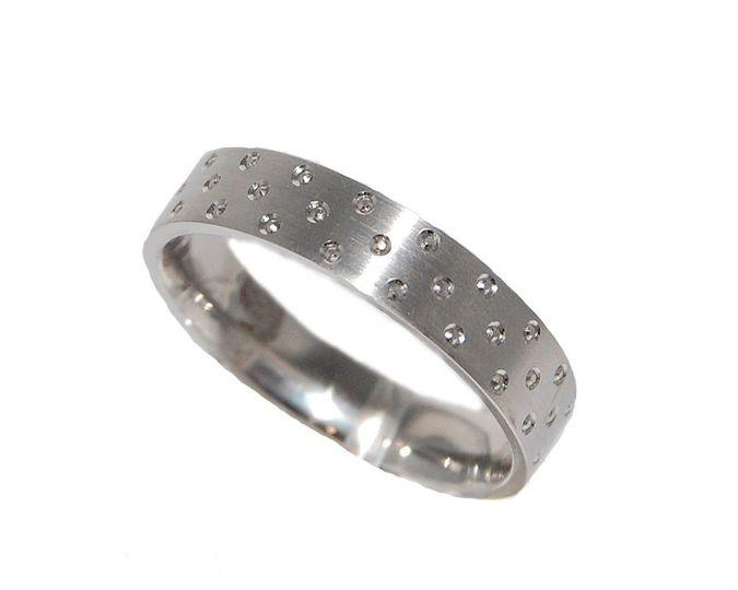 Patterned Wedding Rings
