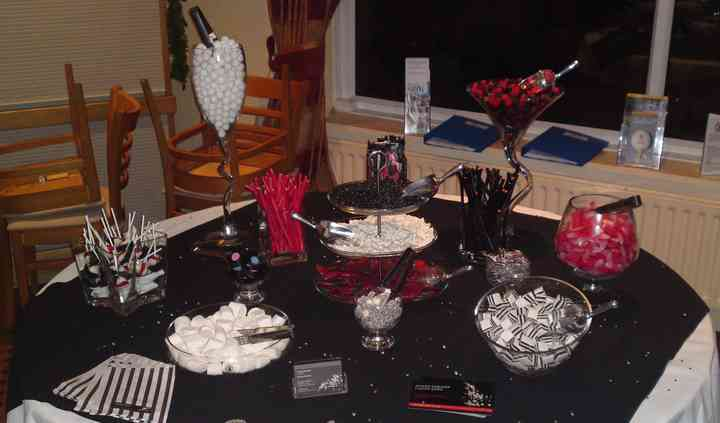 Candy Table Hire for Weddings