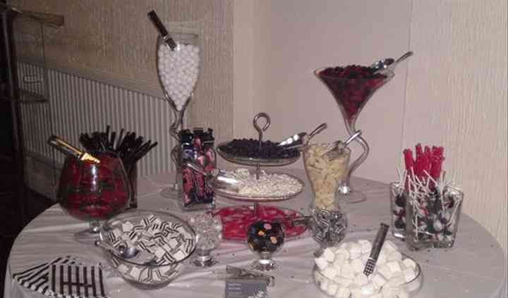 Candy Buffet Hire for Weddings