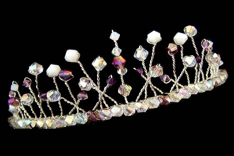 Lilac tiara