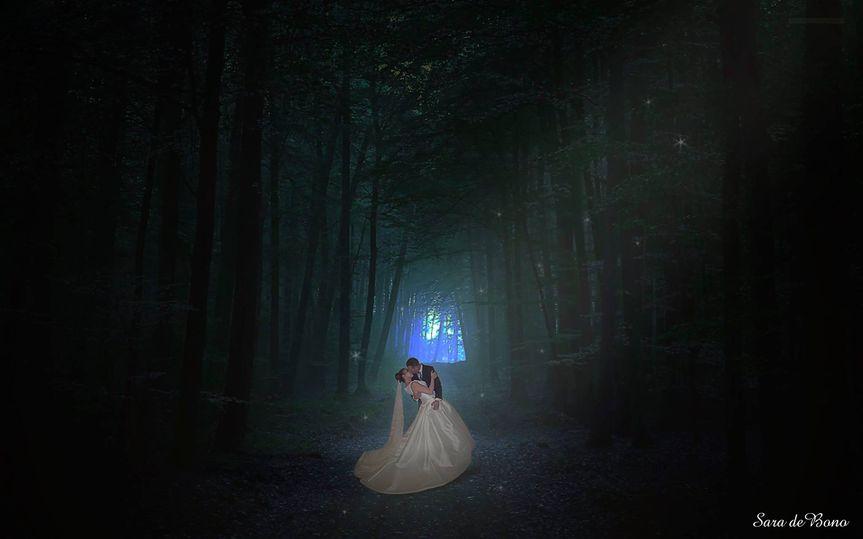 Woods Wedding Photomontage