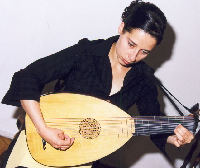 Kate - lute player