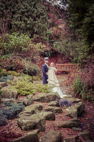 Winter wedding in
