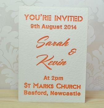 Pea Wedding Invitations | Sweet Pea Design