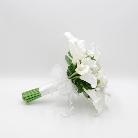 White Calla Lily Posy