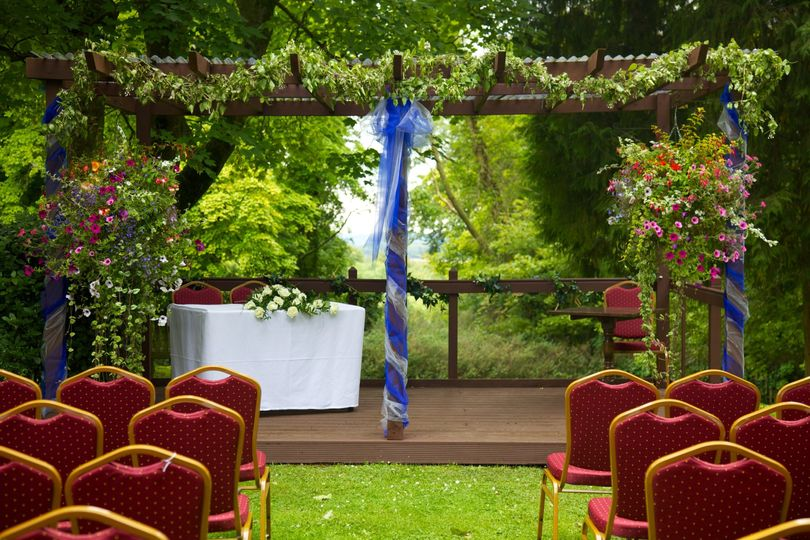 Wedding in our grounds