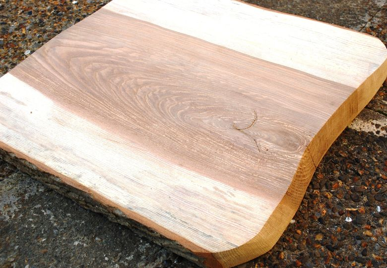 Wood slice guest books