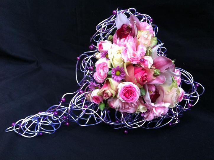 Handmade brides wire frame
