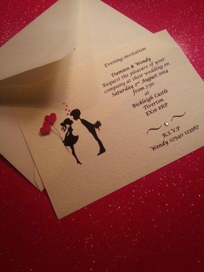 Evening /day invitations