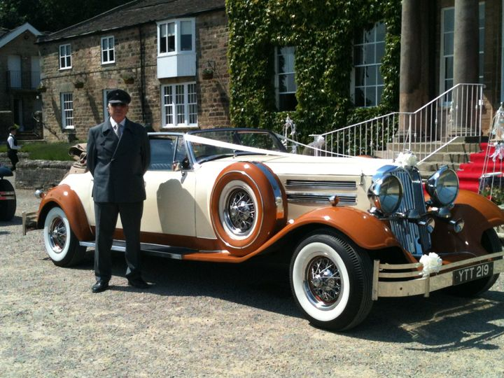 West Yorkshire wedding cars