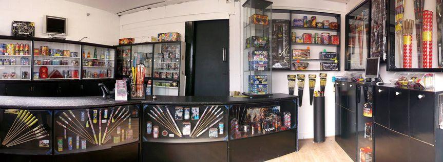 Jubilee firework shop