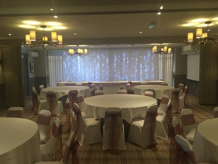 Chair covers,Sashes & backdrop