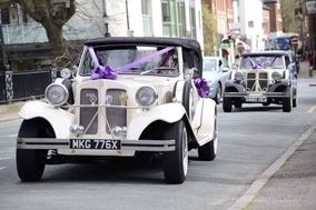 His & Her's Wedding Cars