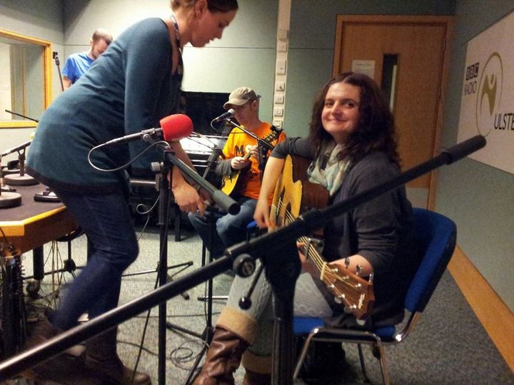 Noeleen at BBC Radio Ulster
