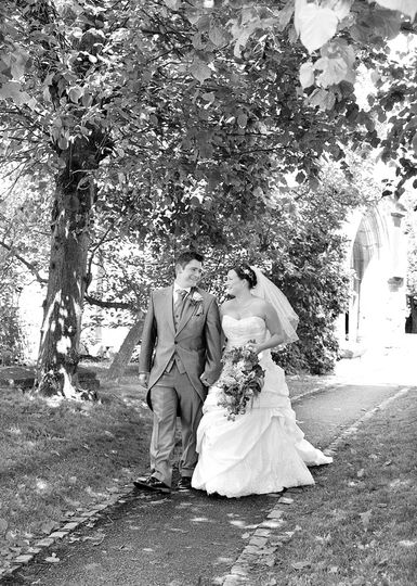 Brailes wedding, Warwickshire