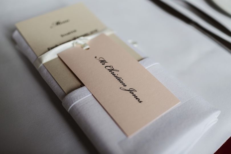 Place tag and menu