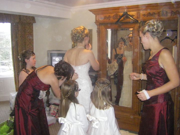 Mobile Wedding Hairstylist Newcastle
