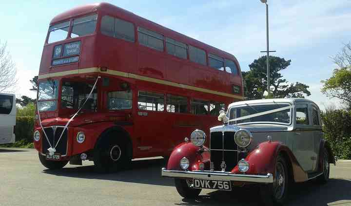 Classic Red Bus