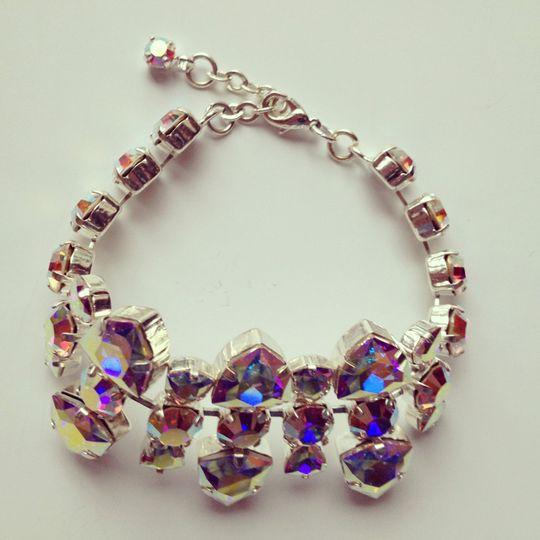Chunky trilliant bracelet