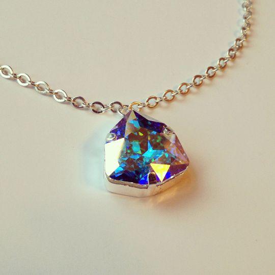 Trilliant necklace