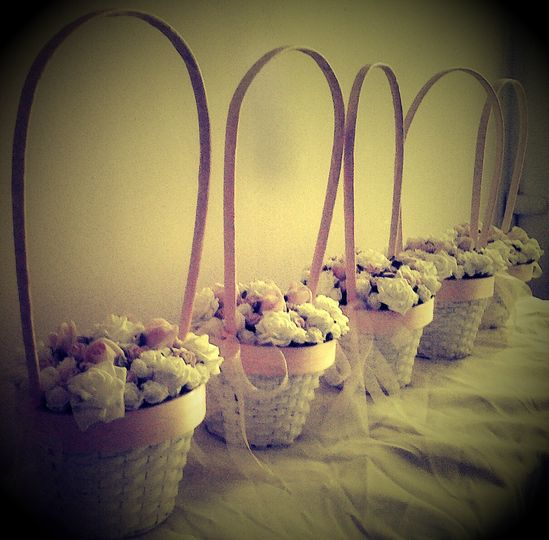 Flowergirl baskets
