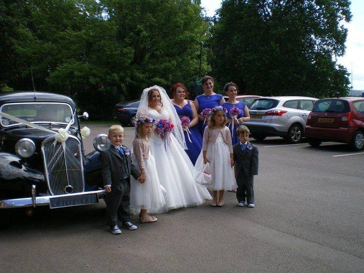 Kelly & Tom's wedding