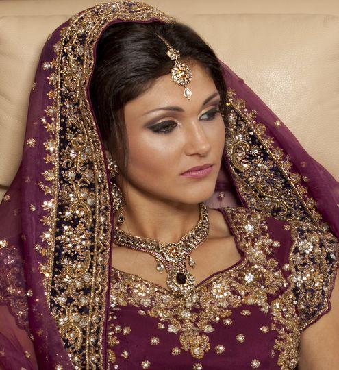 Anika Chauhan bridal makeup