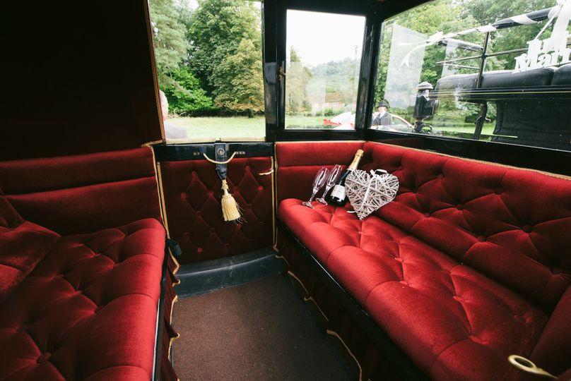 Inside Landau Carriage