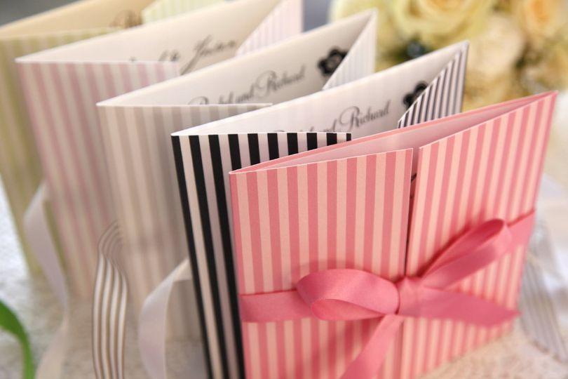 Brighton wedding invitation
