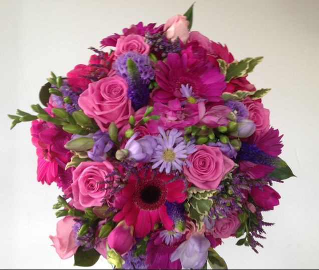 Purple & pinks bouquet