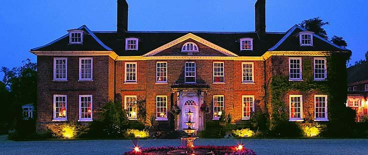 Chilston Park Hotel by night