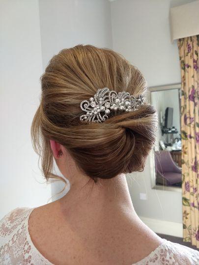 2018 Bridal hair