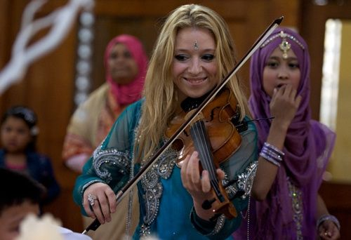Amy Fields Bollywood violin