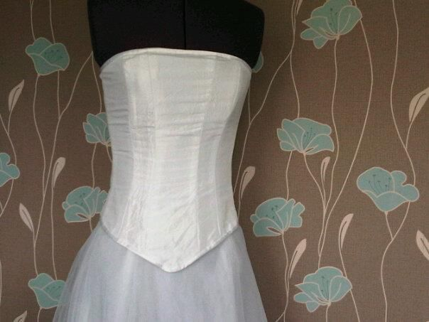 Bridal bodice, work in progress