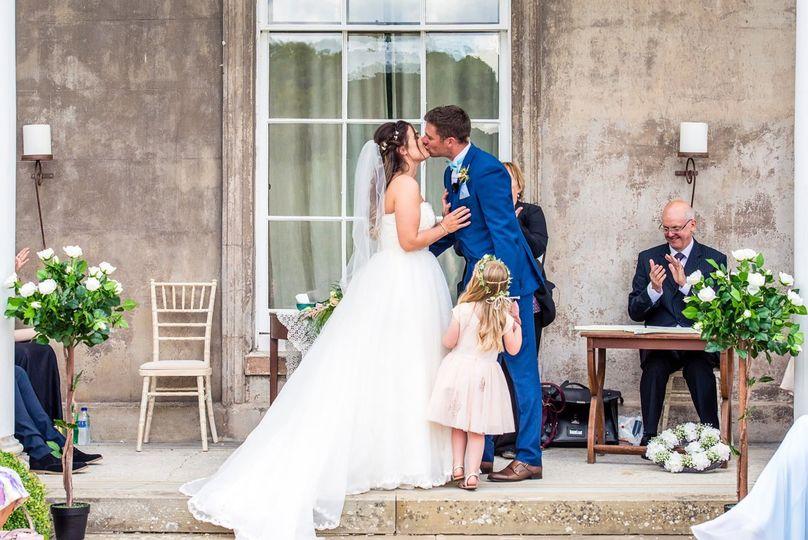 Hexton Manor Wedding Ceremony