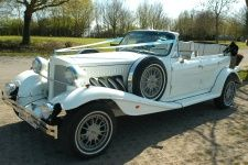 Classic Beauford Wedding Car Hire