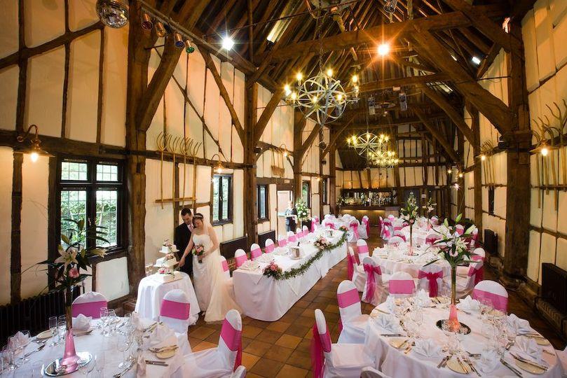 Wedding Breakfast in the Barn