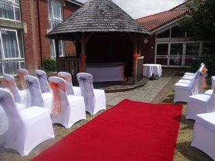 Chair covers, sashes and swag