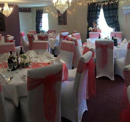 Chair covers and table runners