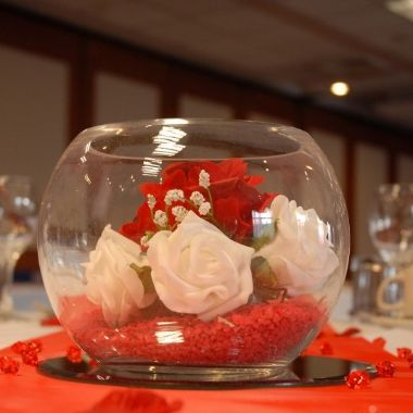 Wedding table decoration - Wee Tait