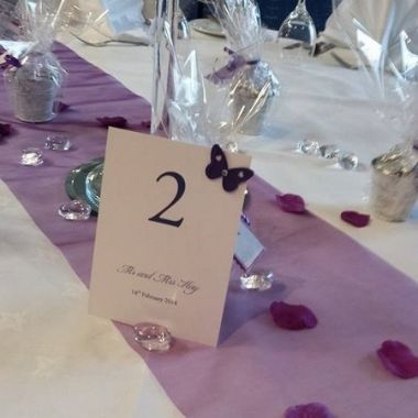Table numbers - Wee Tait